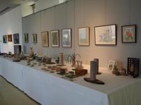 植物と萩焼・日本画・つばのコラボ展