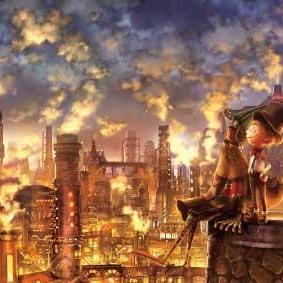 「えんとつ町のプペル」光る絵本展in宇部