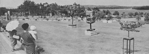当時の現代日本彫刻展