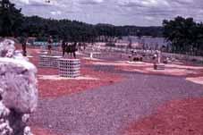 当時の宇部市野外彫刻展