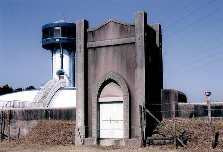 旧桃山一号配水池監視廊入口