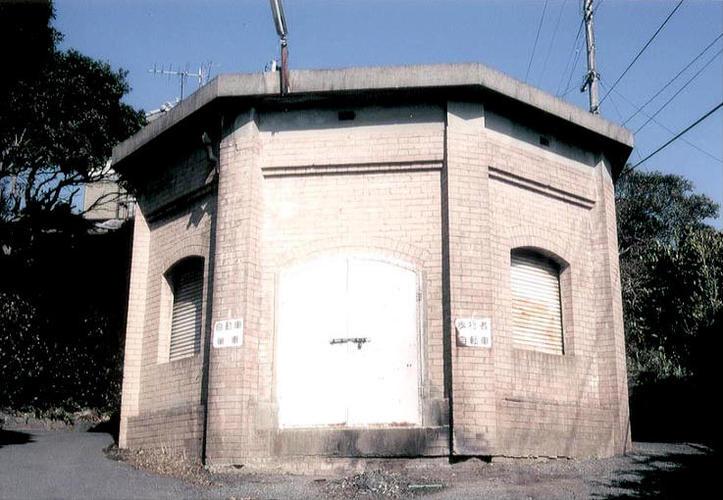 桃山配水計量室